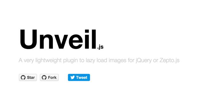 unveil.js – 뷰포트가 이미지 근처에가기전까지!